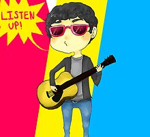 Darren Criss LISTEN UP! by Ikubee