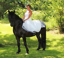 Wedding Dresses and Horses by photobylorne
