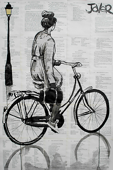 she rode everyday by Loui  Jover