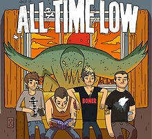 All Time Low Don't Panic Poster by florianberge