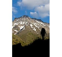 The climber Photographic Print