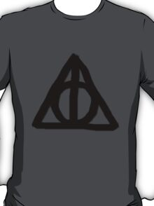 Deathly Hallows on Parchment T-Shirt