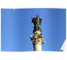 Column of Immaculate Conception Poster