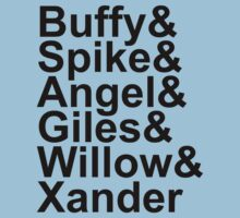 Buffy Names by Look Human