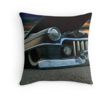 Dark And Low Throw Pillow