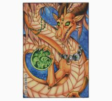 Oriental Dragon Fantasy Art Sticker by cybercat