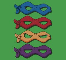 The Teenage Mutant Ninja Turtles by nick94