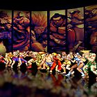 Street Fighter II pixel art by smurfted