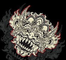 Barong Mask by RoyalBlood