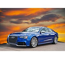 2013 Audi RS5 Photographic Print