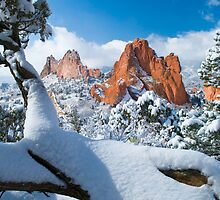 Garden Of The Gods After A Snow by pilgrims492003