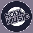 Soul Music (2 colour) by modernistdesign