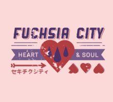 Fuchsia City Gym  by cassdowns