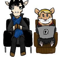 Sherlock and John by Kattypanda