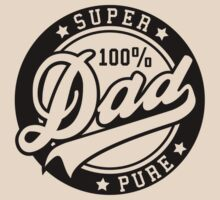 100 percent PURE SUPER DAD Black by MILK-Lover