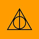 The Deathly Hallows - Orange by Emma Davis