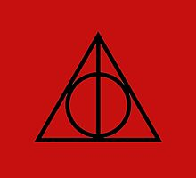 The Deathly Hallows - Red by Emma Davis