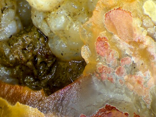 Rose In The Rough (Plume Agate) by Stephanie Bateman-Graham