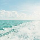 White Water on Ocean by visualspectrum
