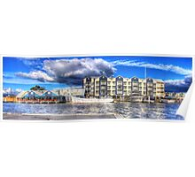 Seaport Panorama Poster