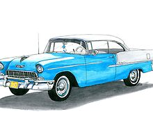 55 Chevy Bel Air #2 by Anthony Billings