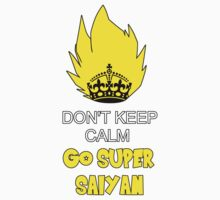 Go Super Saiyan Kids Clothes