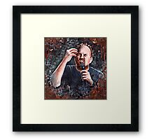 Louis C.K. - Comic Timing Framed Print