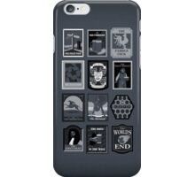 The Worlds End Pub Signs iPhone Case/Skin