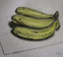 Bananas Sketch - Still Life by ibadishi