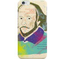 Portrait of William Shakespeares iPhone Case/Skin