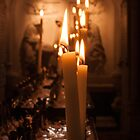Church Candles by Chester Tugwell