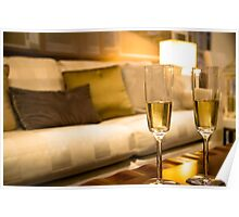 Champagne For Two Poster