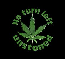 No turn left unstoned by TinaGraphics