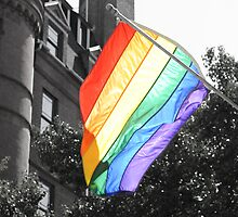 Rainbow Flag by AngelGirl21030