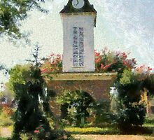 Franklin Clock Tower by Jean Gregory  Evans