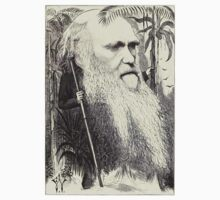 19th Century caricature of Charles Darwin by caldayjd