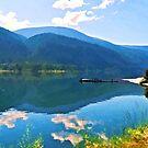 Kootenay Lake British Columbia by tvlgoddess