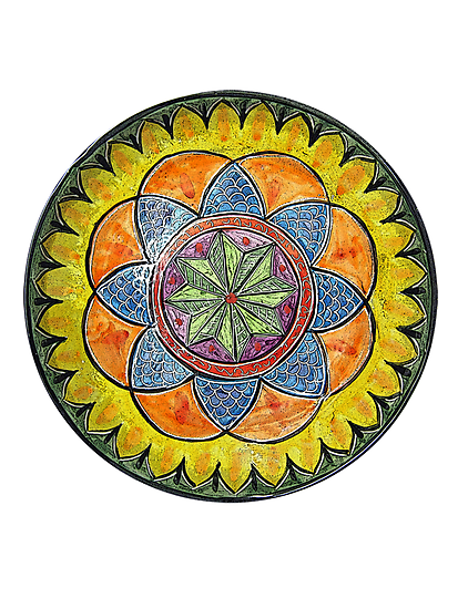 Ornate Star Mandala  by KFStudios