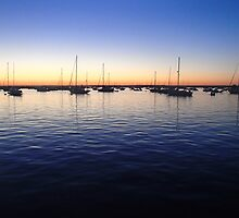 Sunset in Rhode Island by RosPho