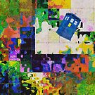 Tardis (abstract-informel-tachisme) by thunderossa