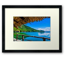 Lost in Paradise Framed Print