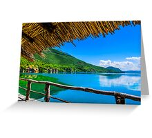 Lost in Paradise Greeting Card