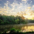 Rays of Light over Cove Lake by Jimmy Phillips