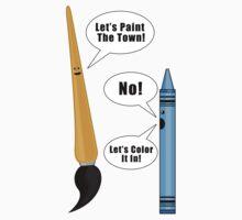 Lets Paint The Town! - Purple Kids Clothes