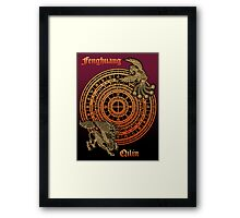 Fenghuang and Qilin Framed Print