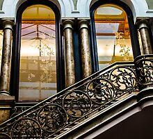 Bronze Stairs by Sotiris Filippou