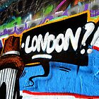 London!? - Graffiti Tunnel  by Jessica Reilly