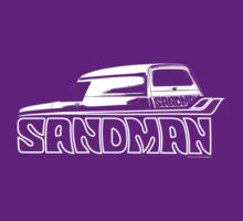 Holden Sandman Panel Van #1 - (BW) by blulime