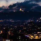 the View of Sagrada Familia by Sotiris Filippou