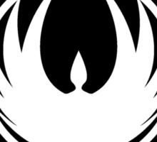 Battlestar Galactica Insignia Black Sticker